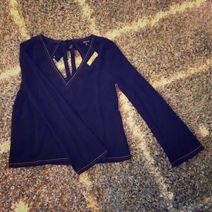 Madewell Black Long Sleeve Blouse